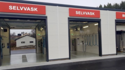 Three new DiBO SBH-E self-service car wash projects in Norway