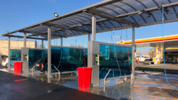 New DiBO NEW 2000 D4 self-service car wash in Petergof (Russia)