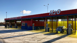 New DiBO NEW 2000 D5 self-service car wash in Saint Petersburg, Russia