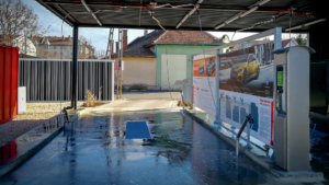 New DiBO NEW 2000 D5 self-service car wash in Szolnok (Hungary)