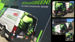 #Thegreenpower hits the road !