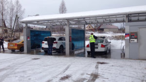 DiBO supplies New 2000 D4 car wash in Latvia