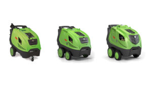 DiBO presents three new hot water high pressure cleaners