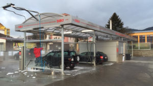 Another DiBO self-carwash project in the Czech Republic